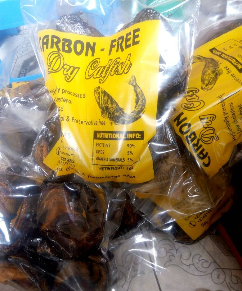 Carbon-Free Dry Cat Fish